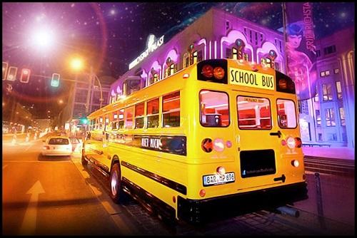 American School Bus Tour