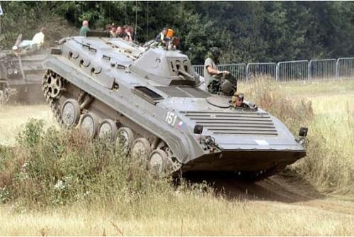 Armoured Car Riding