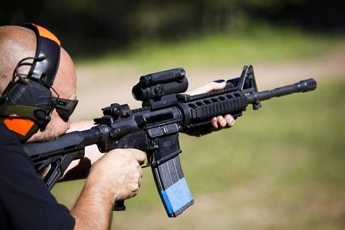 Assault Rifle Shooting