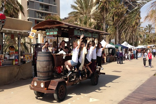 Barcelona Beer Bike