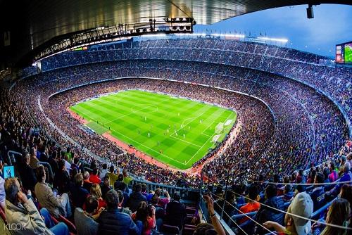 Barcelona Football Match