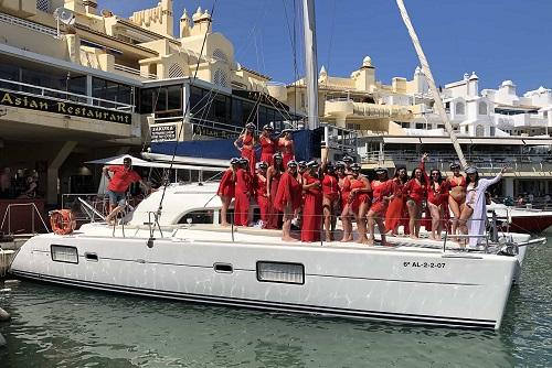 Benalmadena Catamaran Hire