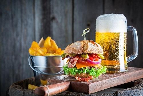 Craft Beer Tasting & A Burger