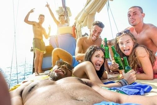 Catamaran Beach BBQ Cruise