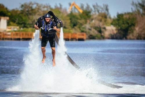 Dolphin Jetpack Flight