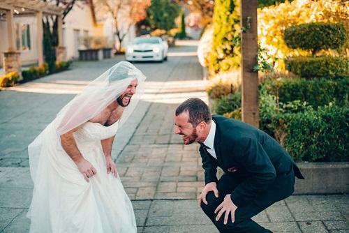 Fake Bride Prank