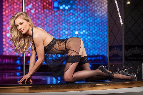 Female Stripper & Beers