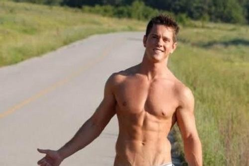 Male Hitchhiker Stripper Pickup