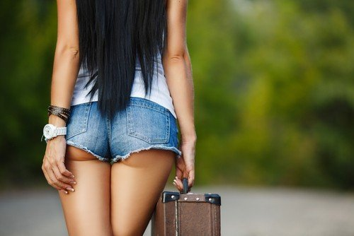 Hitchhiker Striptease