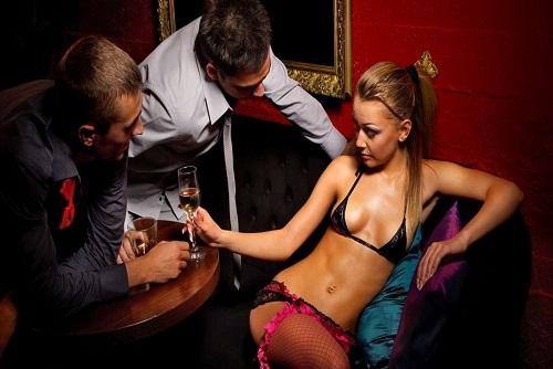 Karaoke Party With Stripper