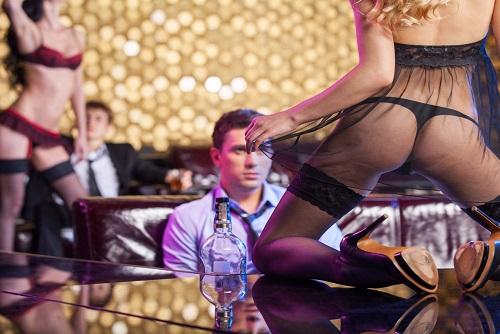 Lap Dance Club Entry