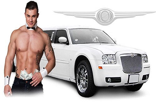 Limo Airport Pickup - Optional Stripper
