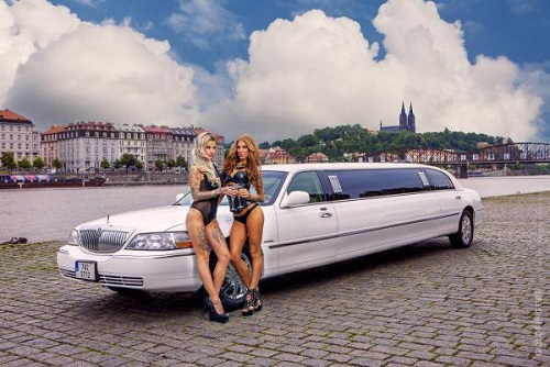 Limo With Stripper