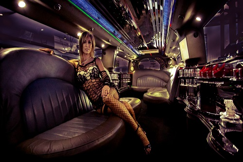 Limo Ride With Stripper