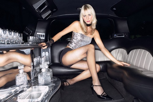 Limo Transfer with Strip Tease