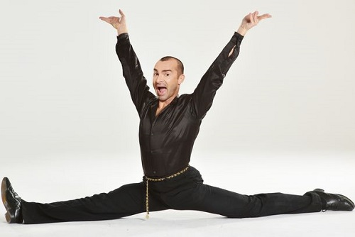 Louis Spence Dance Class