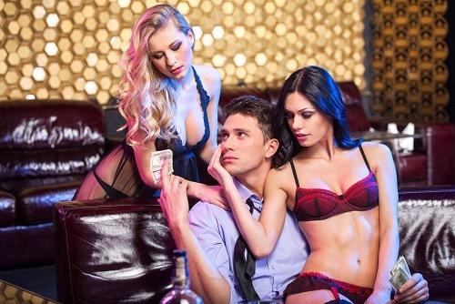 Luxury Erotic Club Entry