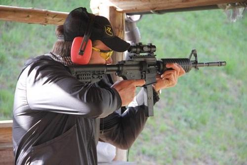 M16 & Magnum Shooting