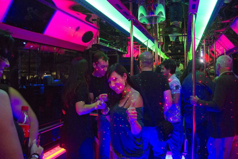 Meal Night and Party Bus