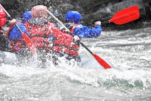 Rafting - Man-made Olympic Course