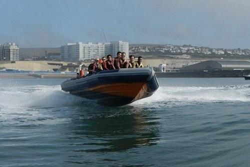 Powerboat Ride