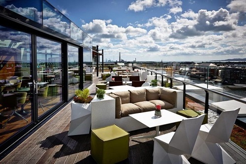 Rooftop BBQ & Club Entry