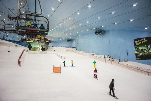 Indoor Snowboarding
