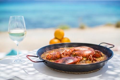Tapas & Paella Beachfront Meal