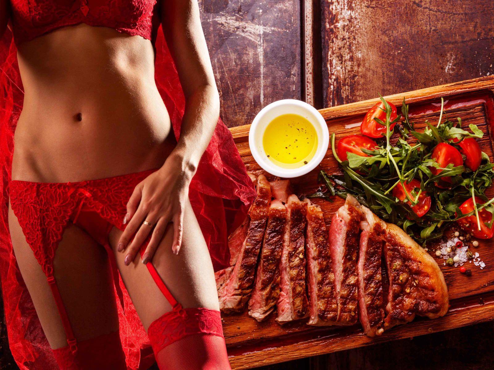 Steak Dinner and Erotic Show