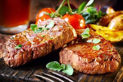 Steak Dinner with Optional Striper