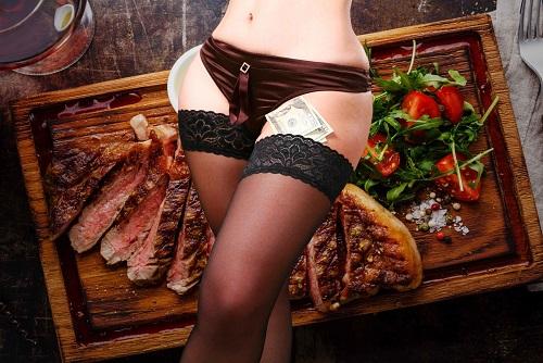 Steak Meal & Strip