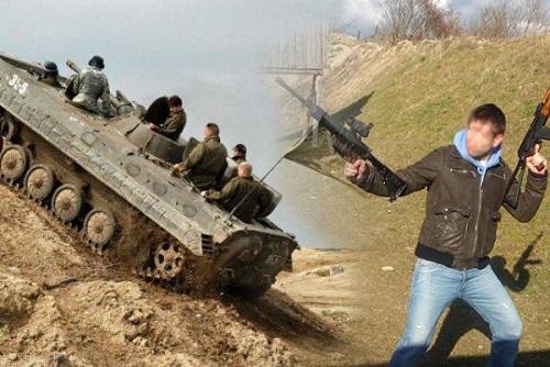 Tank Ride & Machine Gun