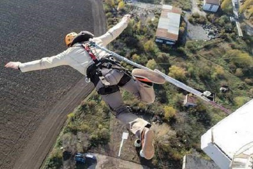 Tower Bungee Jumping