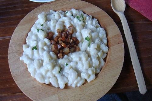 Traditional Slovak Dinner