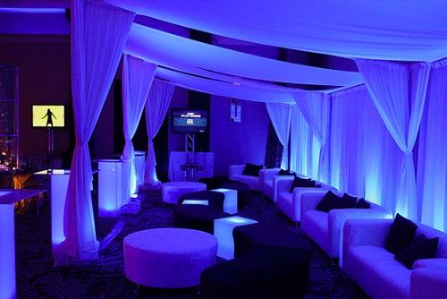 VIP Club Area & Drinks