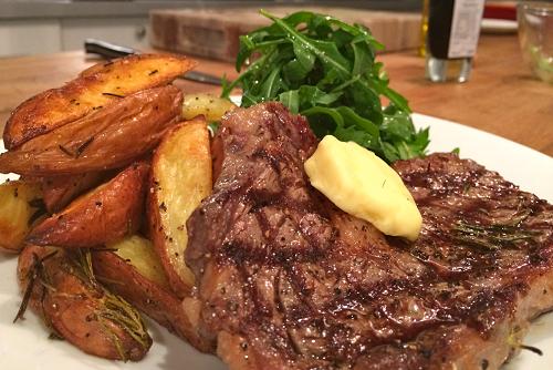 Welcome Steak Night